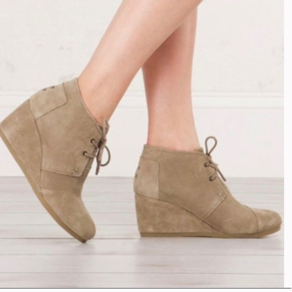 Toms Shoes | Toms Kala Wedge Bootie